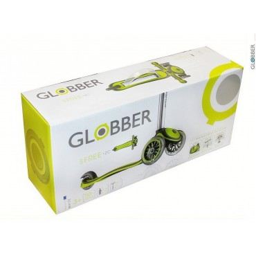 Globber My Free Fixed красный