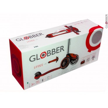 Globber My Free UP красный