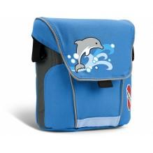 Большая сумка для велосипедов и самокатов puky синяя