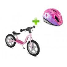 Комплект БеговелоСТАРТ Puky Lr 1L Princess Lillifee розовый
