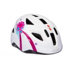 Шлем Puky S (45-51) белый/розовый