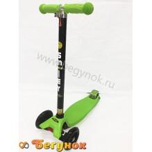 Самокат Smiley Maxi зеленый