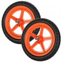 Цветные колеса Strider (пара) оранжевые
