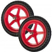 Цветные колеса Strider (пара) красные