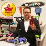 Самокат Micro: международные награды
