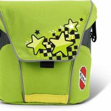 Большая сумка для велосипедов и самокатов puky зеленая