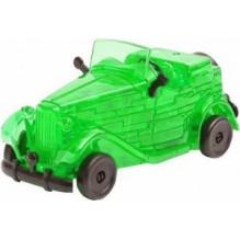 3D головоломка машина зеленая
