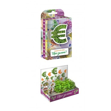"""Живая открытка """"Евро-зелень"""""""