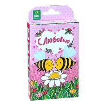 """Живая открытка """"С любовью!"""" Пчёлки"""