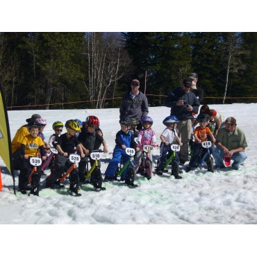 Лыжи для беговела Strider