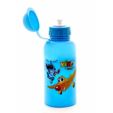 Бутылочка для воды голубая
