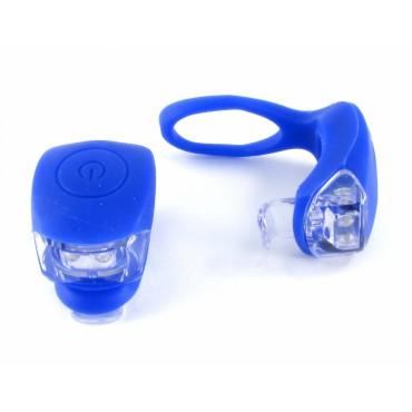 Комплект фонарей синий
