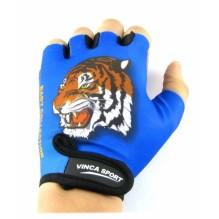 Велоперчатки детские Тигр