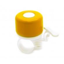 Велозвонок желтый