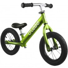 Cruzee Ultralite Air Balance Bike Зеленый