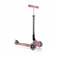 Globber Primo Foldable Lights пастельно-розовый