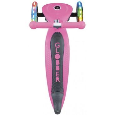 Globber Primo Foldable Lights розовый