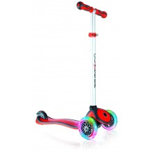 Globber Primo Plus lights красный