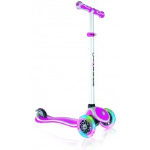 Globber Primo Plus lights розовый