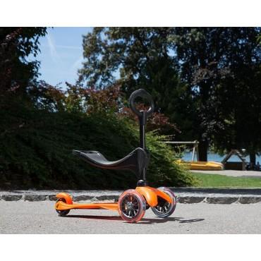 Mini Micro 3 в 1 оранжевый
