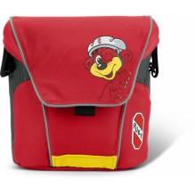 Большая сумка для велосипедов и самокатов puky красная