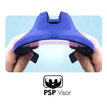 Шлем FullFace Puky S (50-54) синий/салатовый