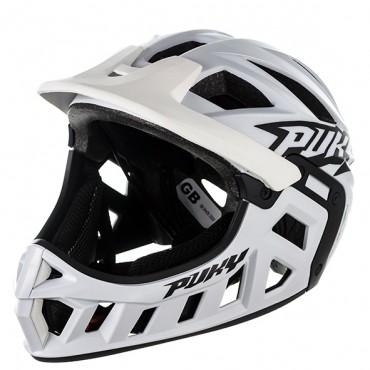 Шлем FullFace Puky M (54-58) белый