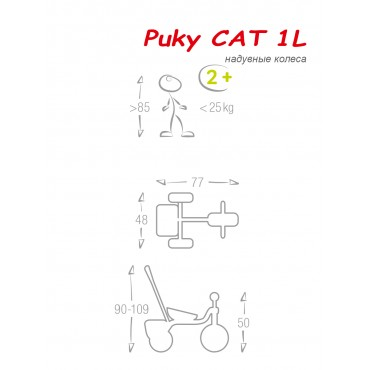Puky CAT 1L Capt'n Sharky