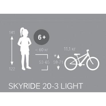 Puky Skyride 20-3 Alu light лиловый