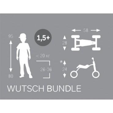 Puky Wutsch серый/мятный