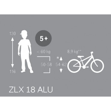 Puky ZLX18-1 черный