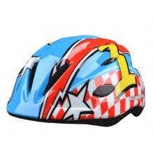 Шлем RunBike красно-синий