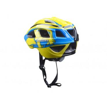 Шлем RunBike сине-желтый