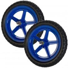 Цветные колеса Strider (пара) синие
