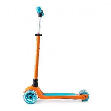 Trolo Maxi оранжево-голубой со светящимися колесами