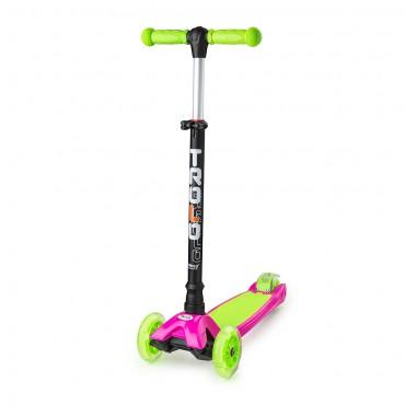 Trolo Maxi розово-зеленый со светящимися колесами