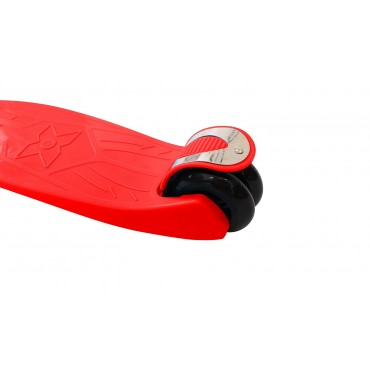 Самокат Y-Scoo Maxi Flash красный