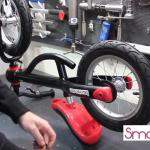 Видеоинструкция по сборке педалей на беговел трансформер Kundo