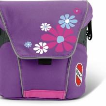 Большая сумка для велосипедов и самокатов puky розовая