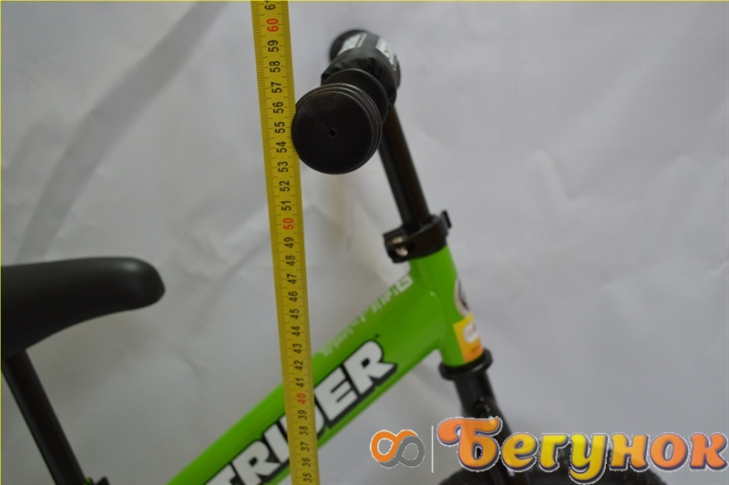 максимальная высота руля велосипеда без педалей strider